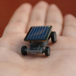 Tiny Solar Powered Car