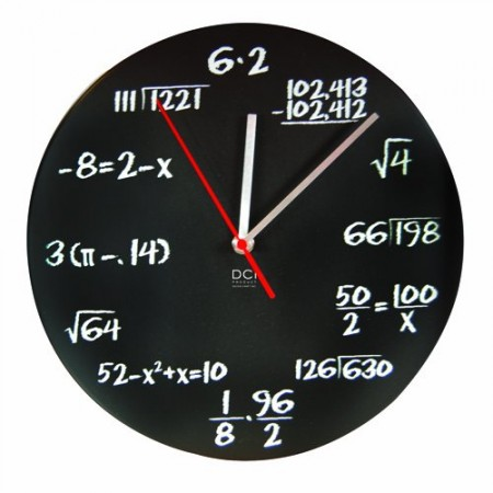 Mathematics Clock $20.10