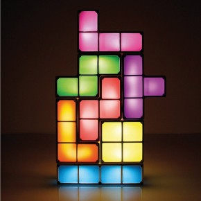 Light Up Tetris Cubes Lamp