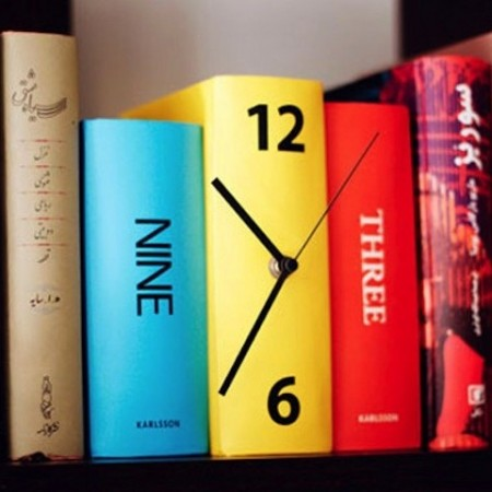 Book Clock $30.00