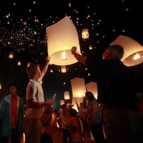 Chinese Sky Lanterns