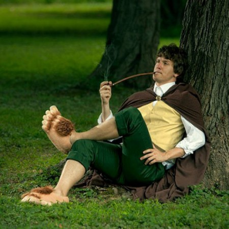 Hobbit Slippers $25.00