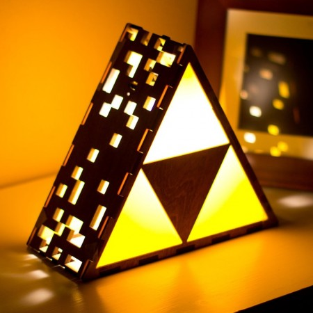 Zelda Triforce Lamp $95.00