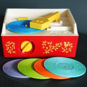 Old Toy Record Player