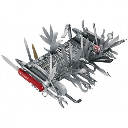 Wenger 87 Tool Swiss Army Knife $1400.00