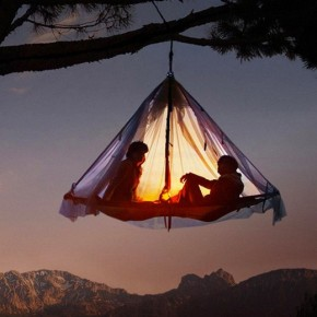 Cliff Cabana Suspended Tent