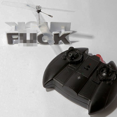Flying F@!% Helicopter $25.00