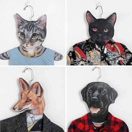 Animal Clothes Hangers $12.00