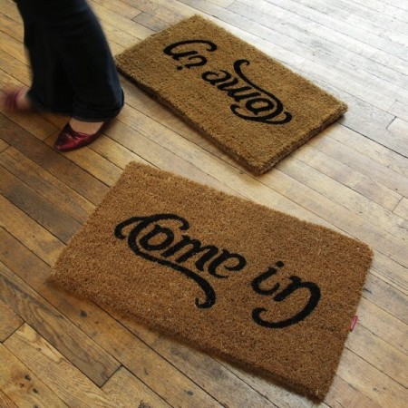 Come In/Go Away Doormat $38.00