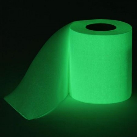 Glow In The Dark Toilet Paper $7.91
