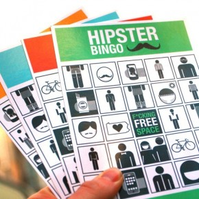 Hipster Bingo Cards