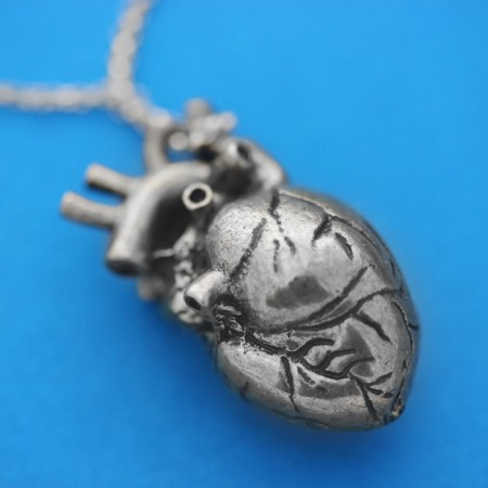 Human Heart Necklace $34.99