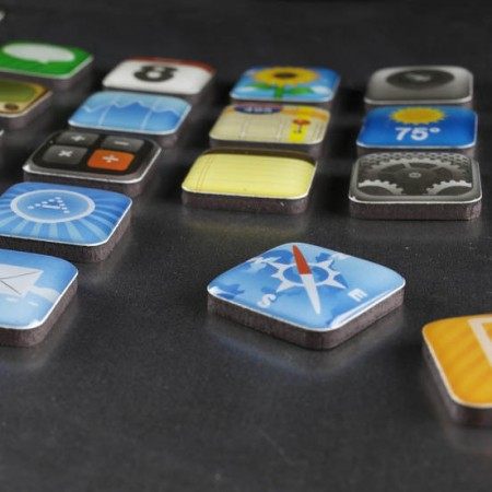 iPhone App Magnets $5.25