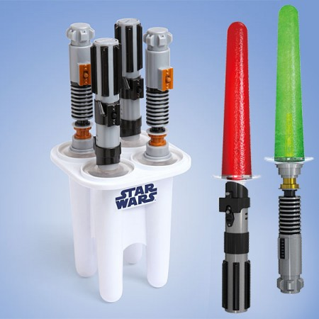 Lightsaber Ice Pop Molds $34.99