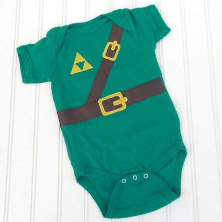 Legend of Zelda Link Onesie $14.00