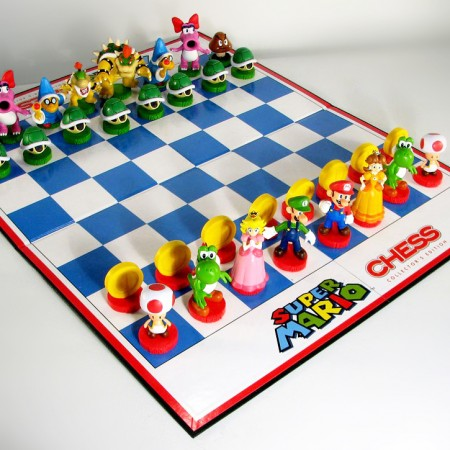 Super Mario Chess Set $34.99