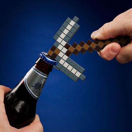 Minecraft Pickaxe Bottle Opener $19.99