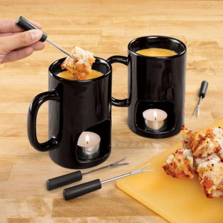 Personal Fondue Mugs $29.99