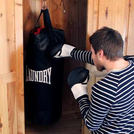 Punching Bag Laundry Bag $29.00