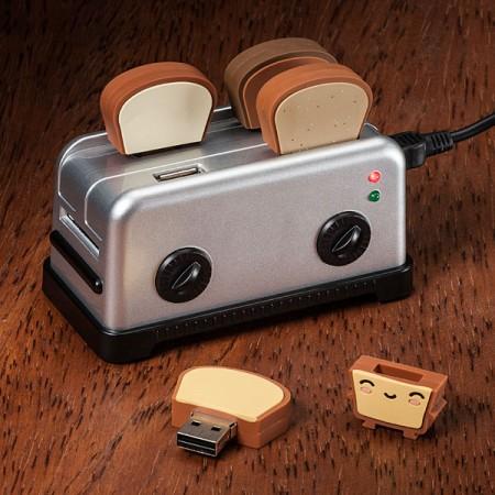 USB Toast Thumbdrives and Hub $19.99