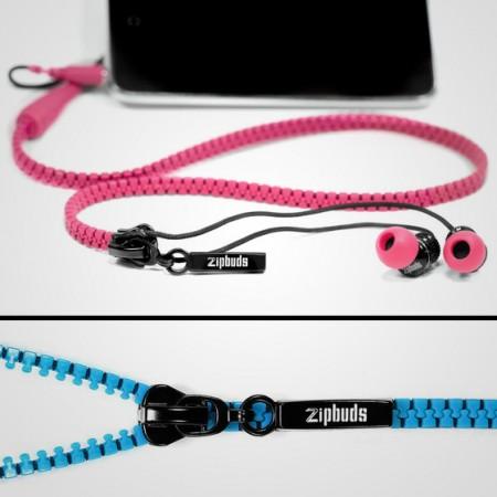 Zipper Earbuds $19.99