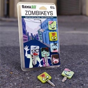 Zombie Key Toppers