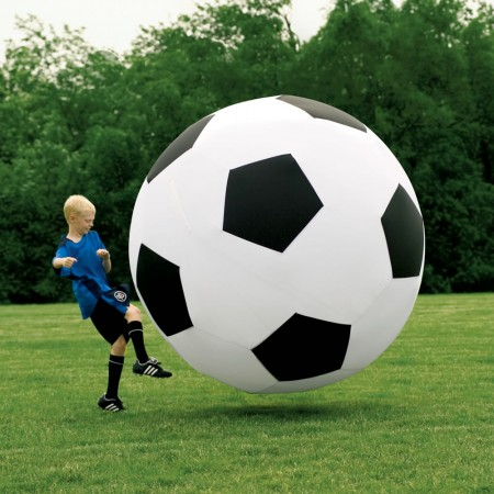 Giant Inflatable Soccer Ball $99.94