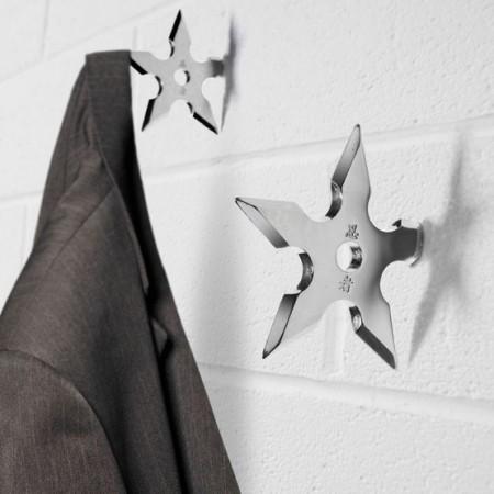 Ninja Star Coat Hooks $11.78