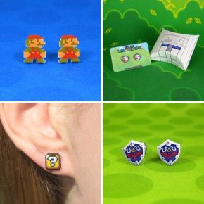 Nintendo-Inspired Earrings