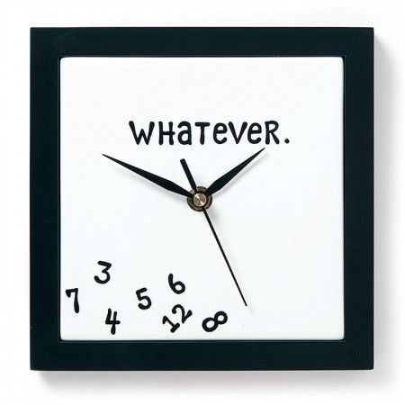 Whatever Clock $24.60