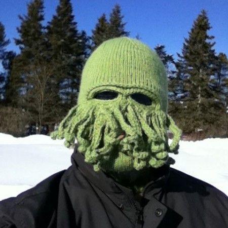 Cthulhu Ski Mask $24.99