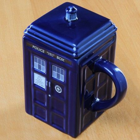 Doctor Who TARDIS Mug $20.88