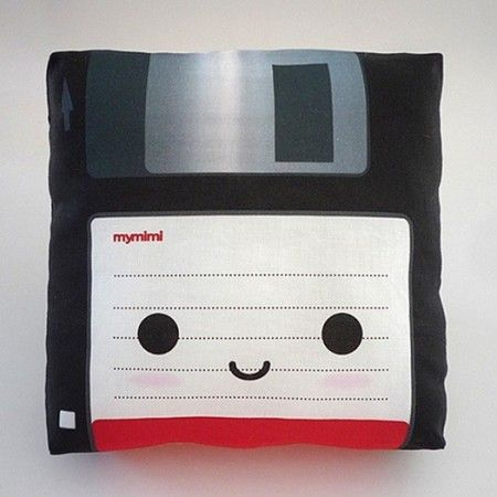 Floppy Disk Pillow $18.00