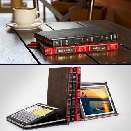 Leather Book Case for iPad $79.99