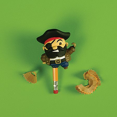 Peg Leg Pirate Pencil Sharpener $6.95